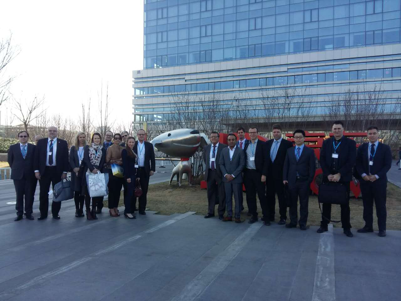 Finnish delegation in JD